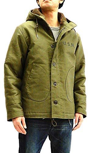 TOYS McCOY Men's Slimmer Fit Hooded N-1 Deck Jacket for sale  Delivered anywhere in USA