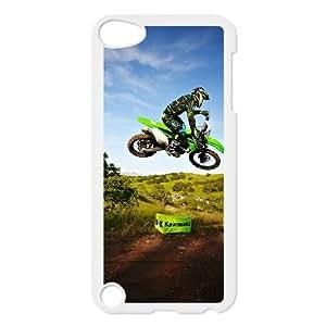 iPod Touch 5 Case White Motocross D4622687