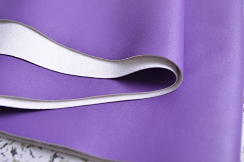 Soft Stretch Lamb Skin Leather Fabric,purple Leather for Home Decor Furniture Upholstery Application,purple Leather Upholstery Fabric,soft Bags/wallets Leather Fabric,wide 54'' Sold By Half Yard Square Purple Vinyl