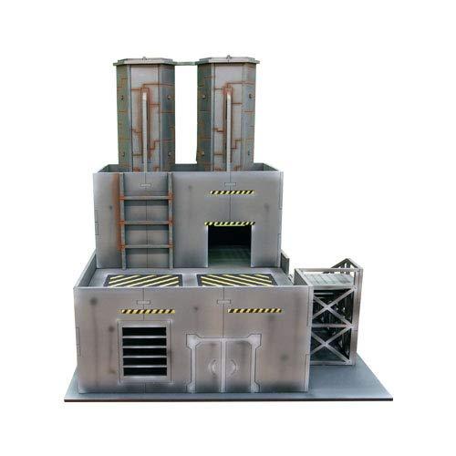 - Frontline Gaming - ITC Terrain - Industrial Factory - Tabletop Miniatures Wargame 28mm Scenery Terrain