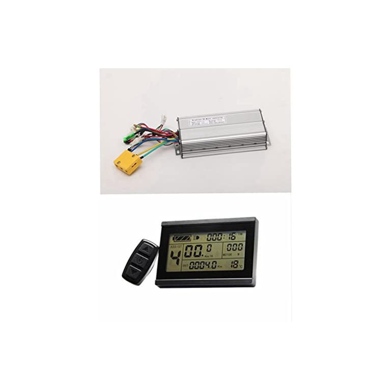 brushless ebike controller and display