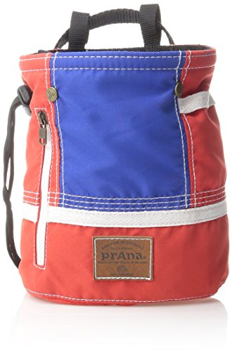Prana Chalk Bag (prAna Color Block Chalk Bag, One Size, Red White)