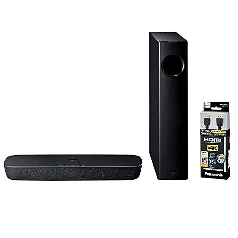 파나소닉 2.1ch 시어터(theater) 바 Bluetooth대응 블랙 SC-HTB250-K
