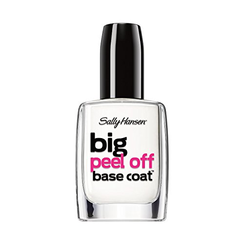 Sally Hansen Big Peel-Off Nail Base Coat Treatment, 0.4 Flui