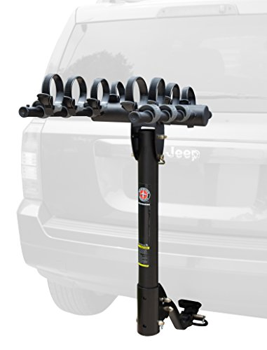 Hitch Mount, 4-Bike Rack