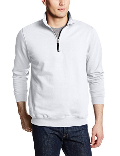 Charles River Apparel Men's Crosswind Quarter Zip Sweatshirt