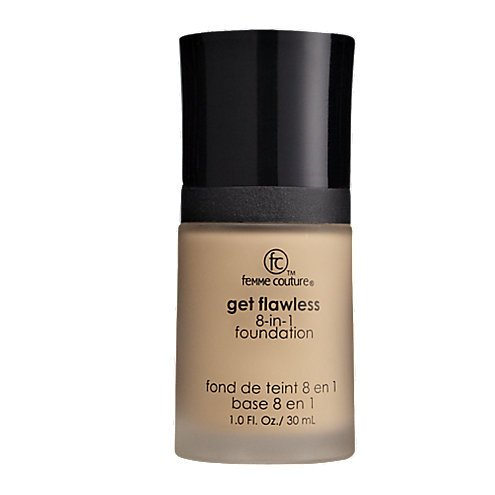 Femme Couture Get Flawless 8-in-1 Foundation Fair, 1.0 fl. oz / 30 ml ()