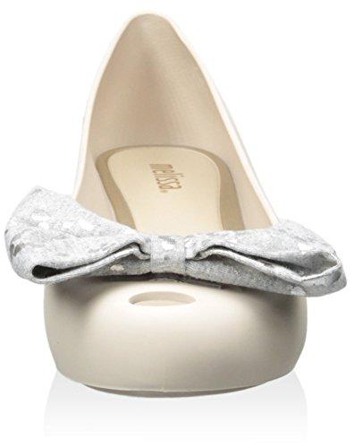 Beige Flat VII Melissa Ballet Women's Bow Sweet Ultragirl with qPqw8F1Xx