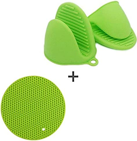 Buycitky Resistant Silicone Cooking Potholder