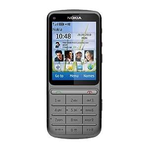 Nokia C 3-01 Teléfono celular GSM, GPRS, EDGE, Bluetooth, Gris