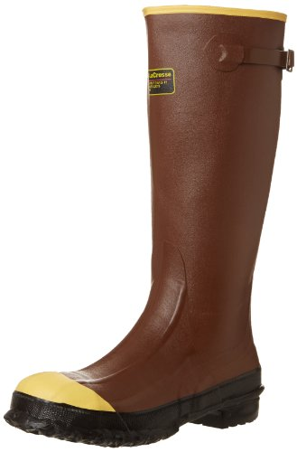 "- Lacrosse Men's Pac 16"" Steel Toe Work Boot,Rust,9 M US"