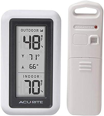 Amazon Com Acurite Digital Indoor Outdoor Thermometer Garden Outdoor