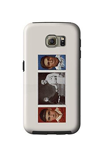 Meyer Lanterns (New York Giants - Richard Marquard/John T. Meyers - Baseball Card (Galaxy S6 Cell Phone Case, Tough))