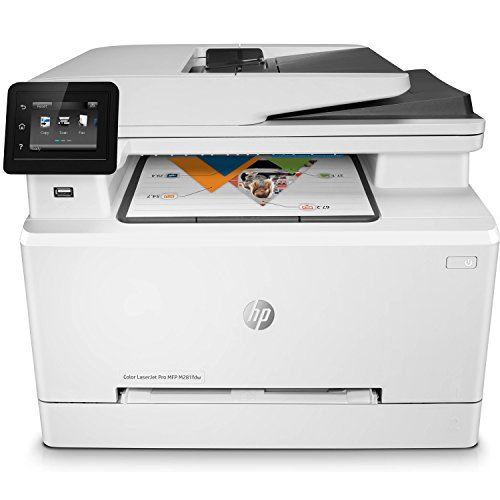 HP LaserJet Pro M281fdw All in One Wireless Color Laser Printer by HP