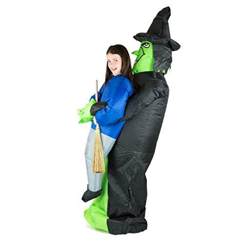 Bodysocks Kids Inflatable Witch Fancy Dress Costume ()