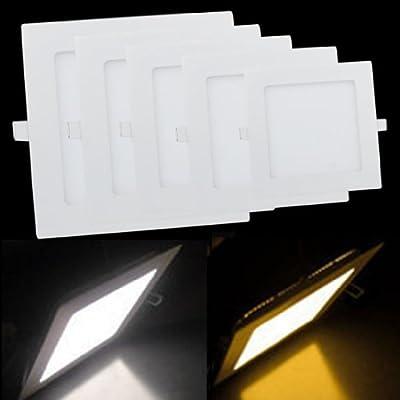 Lemonbest Led Panel Light , Square Recessed Downlight Ceiling Light Fixture Kit