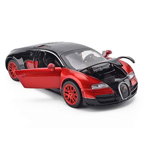 Luccky Classic Mini Concept Sports Car Alloy Car Simulation Car Child Toy Car Model Popular Racing Car Model Retro Casting Car Model Interesting Stunt Car Boy Inertia Pull Back Car Truck Toy 5 6 Years