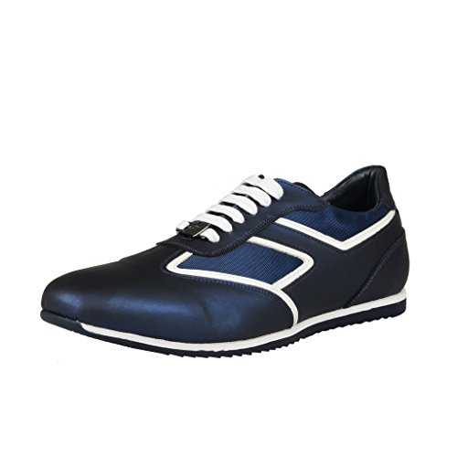 Versace-Collection-Dark-Blue-Fashion-Sneakers-Shoes