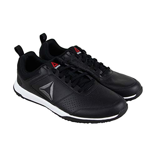 Reebok Mens CXT Athletic Shoes Leather Training Sport Sneaker (8, Black)