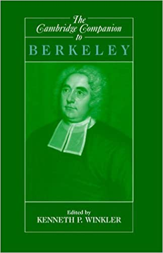 Book The Cambridge Companion to Berkeley (Cambridge Companions to Philosophy) by Kenneth Winkler (2010-03-23)