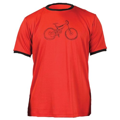 Zoic Cycle Tech Tee - SM Red