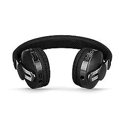 LilGadgets Untangled Pro Premium Children\'s Wireless Bluetooth Headphones with SharePort - Black