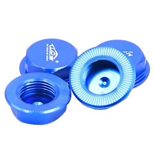 TOP SPEED RC WORLD Wheel Nut Cap Blue for 1/5 Losi 5ive T -