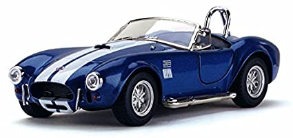 Flying Toyszer Kinsmart 5 quot; Diecast Metal 1965 Shelby Cobra 427 S/C Car, Pack of 1, Color May Vary Die Cast   Toy Vehicles
