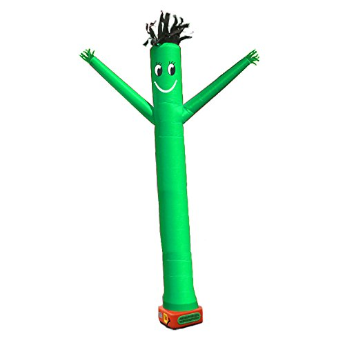 [10 Feet Inflatable Air Dancer Air Puppet Tube Man by Brother Inflatable (Green)] (Inflatable Sky Dancer Costume)