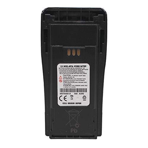 - NNTN4851 1600mAh Ni-MH Battery Compatible for Motorola CP200 CP200D PR400 EP450 EP450S DEP450 CP150 CP140 CP160 CP180 CP250 GP3688 GP3188 Two Way Radio NNTN4851A NNTN4496 PMNN4072A