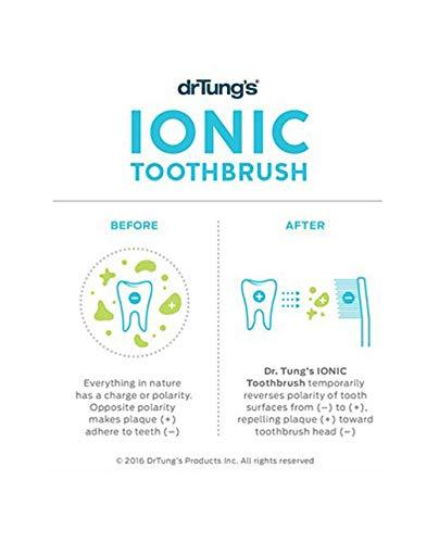 Dr. Tung 's Ionic Zahnbürste System mit Ersatz-Kopf