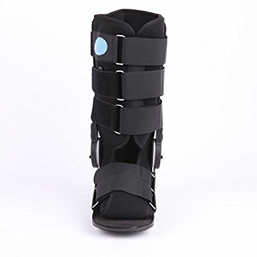 YK Care® Medical Charcot Walker Fracture Boot Achilles Tendon Ankle Leg Fracture Fixation Brace Boots to Protect Ankle with Fixed Orthotics Joint Fitted Brace Ankle Support Fixed Shoes