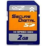 OCZ SDカード 2GB Hi-Speed 150倍速高速版 OCZSD150-2GB 1年保証・ブリスターパッケージ