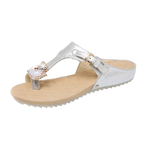 TPulling Women's Ballet Silver 1nGYjl9p