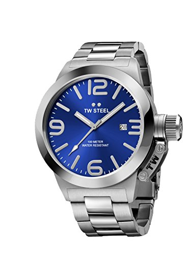 TW Steel Men's CB11 Analog Display Quartz Silver Watch