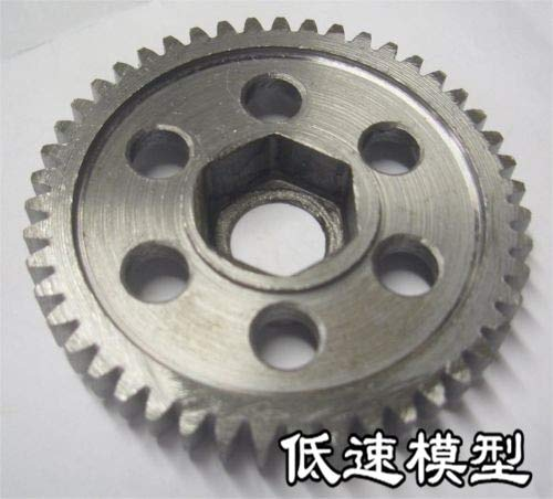 Part & Accessories 06232 Steel Metal Spur. Gear Deceleration Big Gear 47T For 1/10 4WD RC Nitro Model Car Buggy Truck 94166 94155 94177 ()