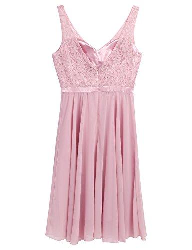 Damen kleider festlich rosa