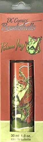 Marmol & Son DC Comics Bombshells Supergirl, Wonder Woman, Poison Ivy, Eau De Toilette Spray 30ml each (Poison Ivy 30 ml Spray)