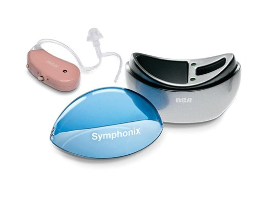RCA Symphonix Rechargable Personal Sound Amplifier With Case Each