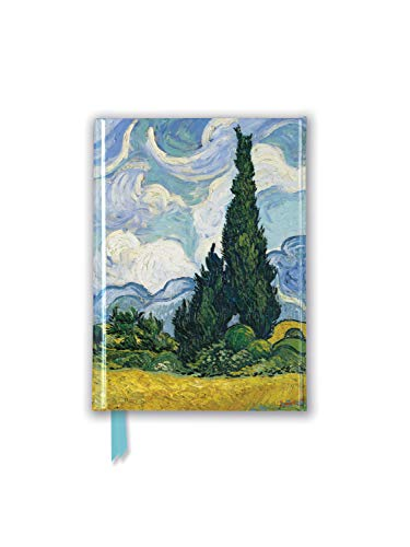 Vincent Van Gogh: Wheat Field with Cypresses (Foiled Pocket Journal)