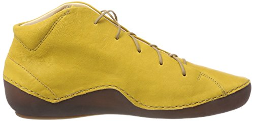Think! Women's Kapsl_282064 Hi-Top Trainers, Yellow, 5 UK Yellow (Kurkuma 10)