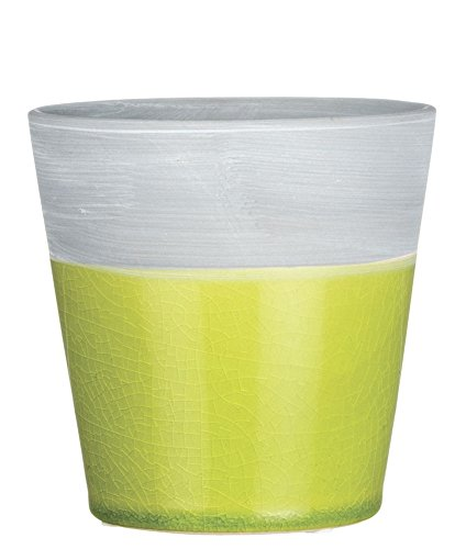 Sullivans Lime Green Ceramic Planter Pot (5.5