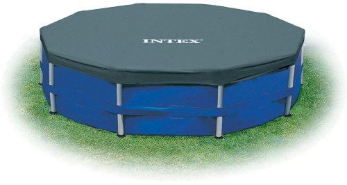 Intex 12 ft. Metal Frame Above Ground Pool Cover