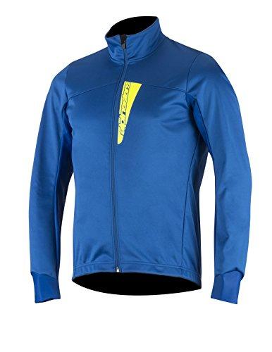 - Alpinestars Men's Cruise Shell Jacket, Royal Blue/Yellow Fluo, Medium