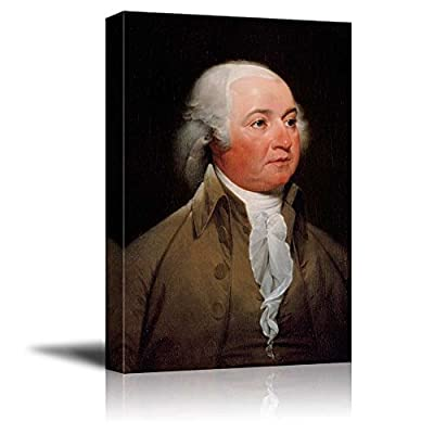 That's 100% USA Made, Astonishing Creative Design, Portrait of John Adams Inspirational Famous People Series
