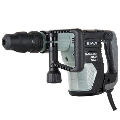 Hitachi H45MEY AC Brushless 16 lb SDS Max Demolition Hammer, AHB Aluminum Housing Body, UVP User Vibration Protection, (Hitachi Power Supply Cord)