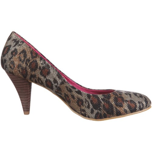 brown Femme Do Marron braun Net Escarpins Pumps 52106 Dolly f4qwPzq
