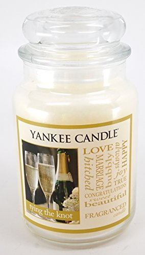 Yankee Candle Tying The Knot Large Jar Candle 22 oz