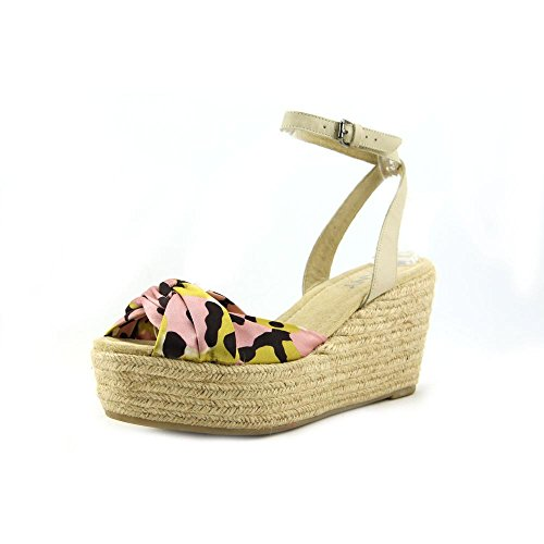 DKNY Rita 2 Womens Size 9 Multi-Colored Leather Wedge Sandals Shoes