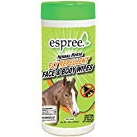 Espree Aloe Herbal Horse Face & Body Wipes, 40 Count
